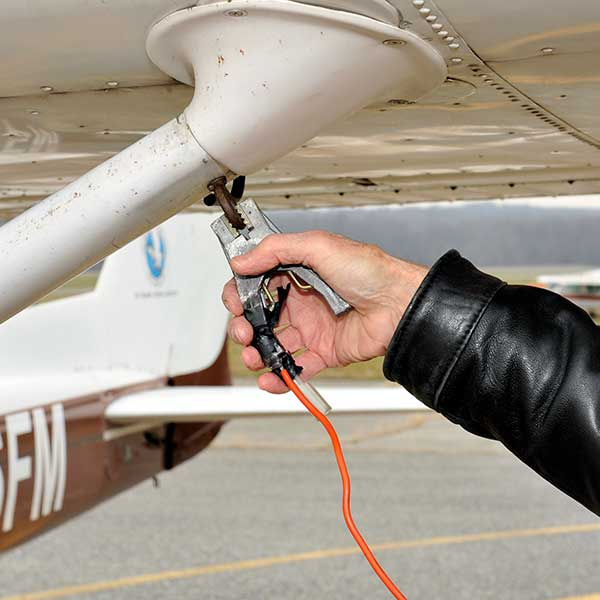 ground your aircraft before fueling