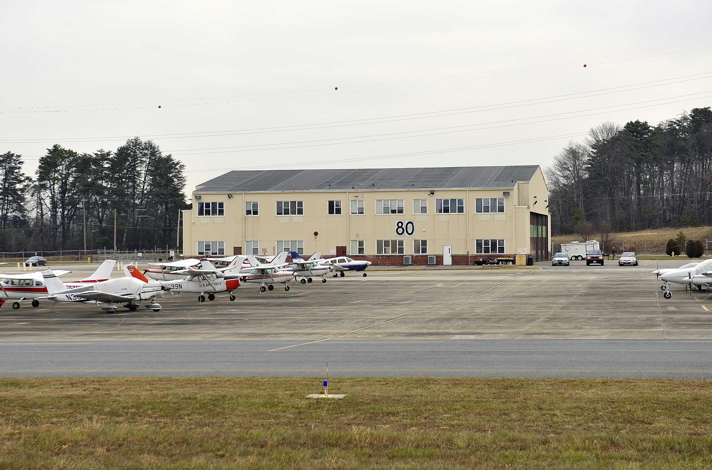 hangar 80 at Tipton Airport
